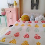 pineapple bedding