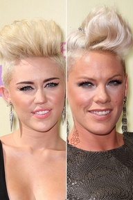 Both Pink and Miley