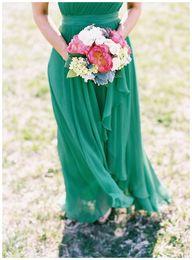 Emerald green brides