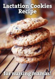 Lactation Cookies fo