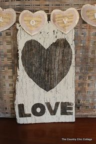 Rustic LOVE Sign fro