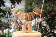 Cute DIY Wedding Cak