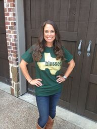 Texas Blessed Tee --