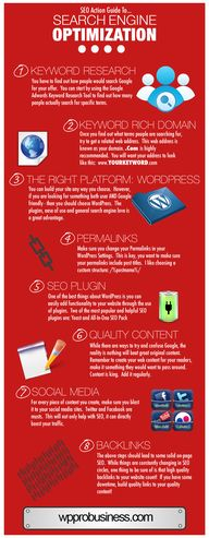 SEO Action Infograph
