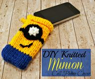 DIY Knitted Minion C
