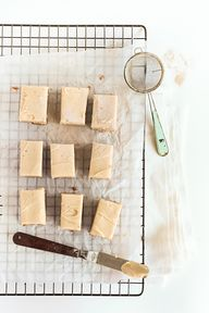 spiced blondies / Ra
