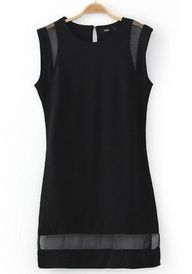 Black Sleeveless Min