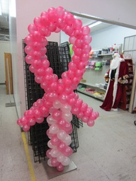 Pink Ribbon Balloon
