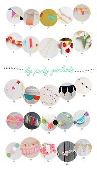25 DIY party garland