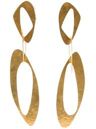 HERVÉ VAN DER STRAETEN - sixties clip earrings