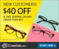 $40 off New Glasses