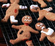 Gingerbread men with