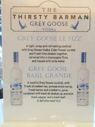 Special Grey Goose c