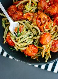 Pesto Squash Noodles