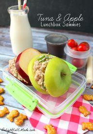 Tuna and Apple Lunch