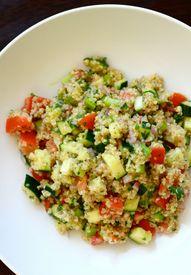 Vegetable Quinoa Sal