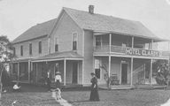 Old photo of home in