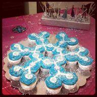 FROZEN Cupcake birth