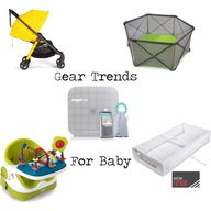 Gear Trends for Baby