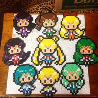 Sailor Moon perler b