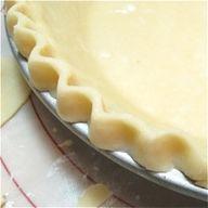 This simple pie crus...