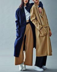 Oversize coats are o