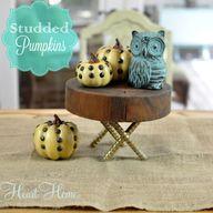 Studded Pumpkins- an