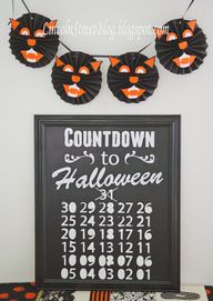 DIY Chalkboard Count