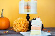 Orange Ombre Cake -