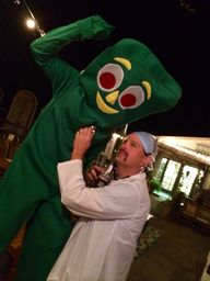 Gumby needs a medic.
