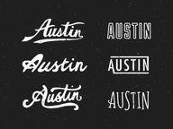 Austin Type by Steve