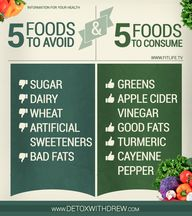 5 Foods to avoid and