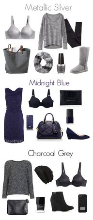 Greys & Blues #fall
