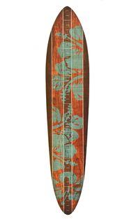 Vintage Surfboard Wo