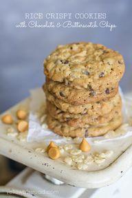 Rice Crispy Cookies