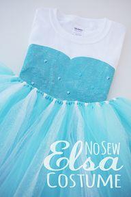 DIY No Sew Elsa Cost