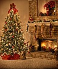Santa Clause is comi