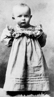 El pequeño Karol Woj