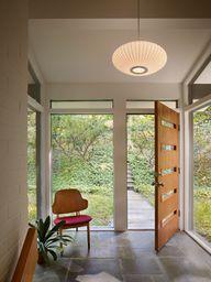 Modern Home entrance...