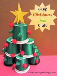 DIY K-Cup Christmas