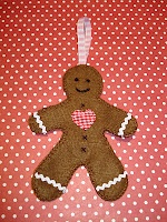 PatternMart.com ::. PatternMart: Prim Gingerbread Head Ornaments
