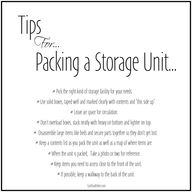 My Tips for packing