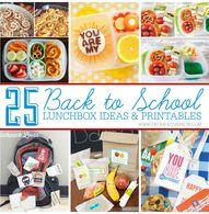 25 Back to School Lu