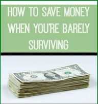 How to Save Money Wh