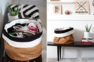 DIY Slouchy Bin Tuto
