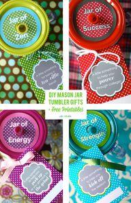 Mason Jar Gifts and