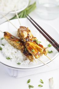 Chicken Yakitori wit...