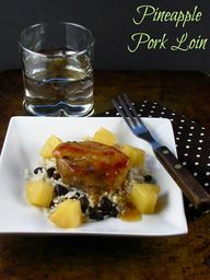 Pineapple Pork Loin