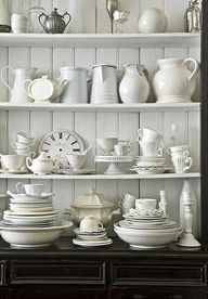 mismatch white china