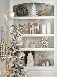 Christmas Bookshelf